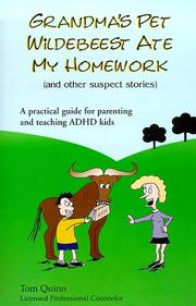 Cover of: Grandma's Pet Wildebeest Ate My Homework (and Other Suspect Stories)