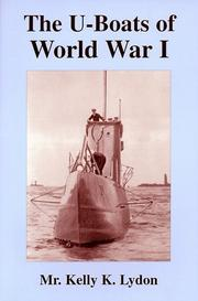 Cover of: The U-boats of World War I | Kelly K Lydon