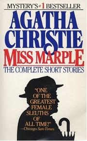 Cover of: Miss Marple: The Complete Short Stories