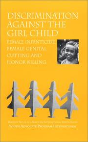 Cover of: Discrimination Against The Girl Child | Katherine S Newell