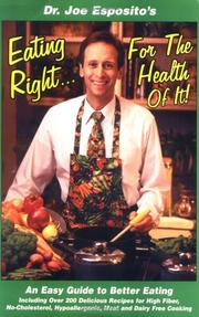 Cover of: Eating Right