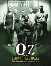 Cover of: OZ: Behind These Walls | Augustus Hill
