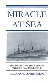 Cover of: Miracle at Sea | Eleanor Anderson