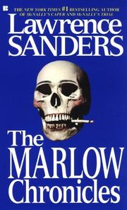 Cover of: The Marlow Chronicles | Lawrence Sanders