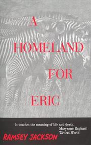 Cover of: A Homeland For Eric | Ramsey Jackson