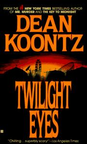 Cover of: Twilight eyes