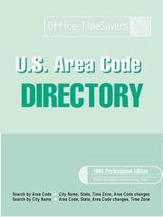 Cover of: 1999 U.S. Area Code Directory