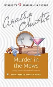 Cover of: Murder in the Mews and Other Stories