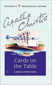 Cover of: Cards on the Table (Hercule Poirot Mysteries) | Agatha Christie