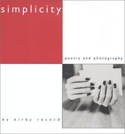 Cover of: Simplicity, Poetry and Photography