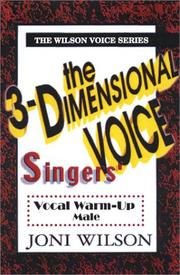 Cover of: The 3-Dimensional  Singer: Male