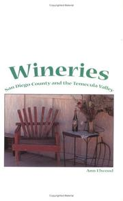 Cover of: Wineries | Ann Elwood