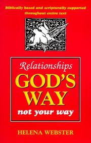 Cover of: Relationships God