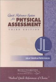 Cover of: Quick Reference System for Physical Assessment |