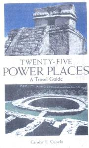 Cover of: 25 Power Places