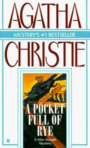 Cover of: A pocket full of rye by Agatha Christie