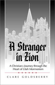 Cover of: A Stranger in Zion