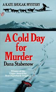 Cover of: A Cold Day for Murder (Kate Shugak Mystery)