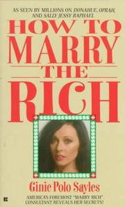 Cover of: How to Marry the Rich