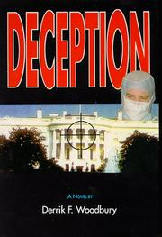 Cover of: Deception | Derrik F. Woodbury