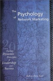 Cover of: The Psychology of Network Marketing