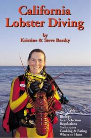 Cover of: California Lobster Diving | Kristine C Barsky
