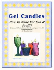 Cover of: Gel Candles