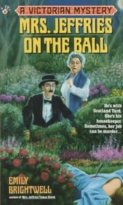 Cover of: Mrs. Jeffries on the Ball (Victorian Mystery)