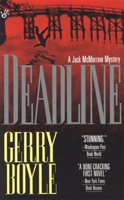 Cover of: Deadline (A Jack McMorrow Mystery)
