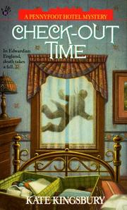 Cover of: Check-out Time (Pennyfoot Hotel Mysteries) | Kate Kingsbury
