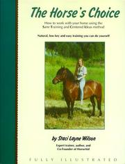 Cover of: The Horse's Choice