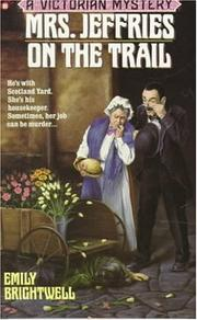 Cover of: Mrs. Jeffries on the Trail (Victorian Mystery)