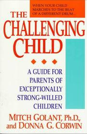 Cover of: The challenging child
