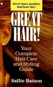 Cover of: Great hair! | Sallie Batson