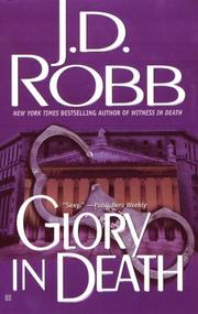 Cover of: Glory in Death (In Death, Book 2) | Nora Roberts