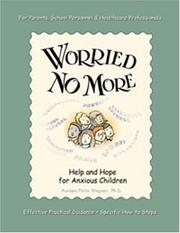 Cover of: Worried no more