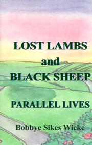 Cover of: Lost Lambs and Black Sheep | Bobbye Sikes Wicke