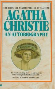 Cover of: Agatha Christie: An Autobiography