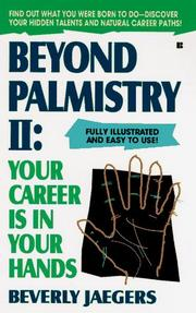 Cover of: Beyond Palmistry 2