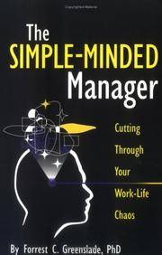 The Simple-Minded Manager by