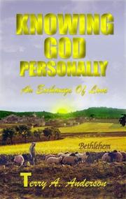 Cover of: Knowing God Personally | Terry A. Anderson