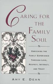 Cover of: Caring for the family soul