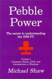 Cover of: Pebble Power