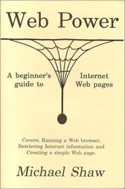 Cover of: Web Power