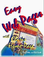 Cover of: Easy Web Pages With Claris Home Page | Rick Kitto