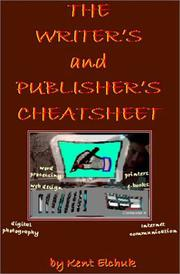 Cover of: The Writer's and Publisher's Cheetsheet
