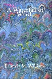 Cover of: A Waterfall of Words | Palmyra M. Williams