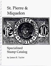 Cover of: St. Pierre and Miquelon Specialized Stamp Catalogue