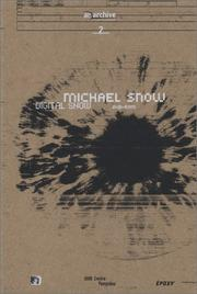 Cover of: Michael Snow