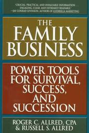 Cover of: The family business